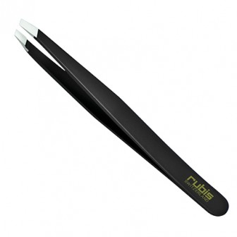 Rubis Slant Tweezer Black