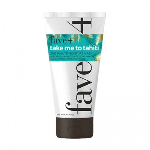 Fave4 Take Me To Tahiti One Minute Moisture Hair Mask 145ml