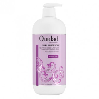 Ouidad Curl Immersion No-Lather Coconut Cream Cleansing Conditioner 500ml