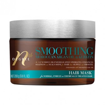 Nth Degree Ultra Smooth Argan Oil and Keratin Hair Treatment Mask