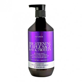 Nth Degree Brightening Purple Sage and Silk Protein Shampoo 400ml
