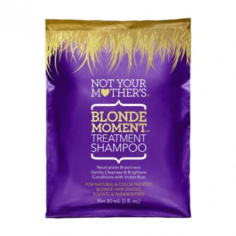 Not Your Mother's Blonde Moment Treatment Shampoo 1pc Sachet