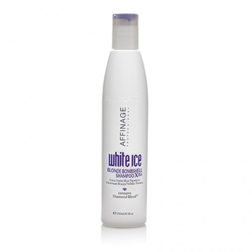 Affinage White Ice Blonde Bombshell Shampoo Xtra 250ml