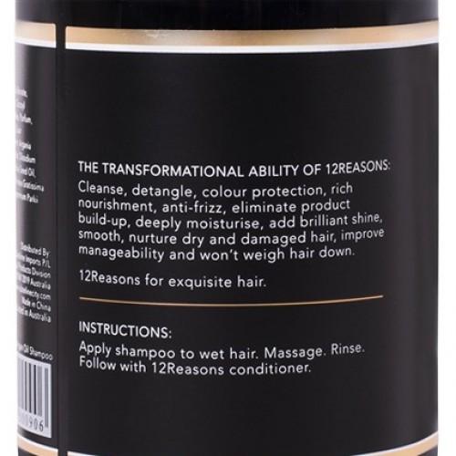 12Reasons Argan Oil Shampoo 400ml
