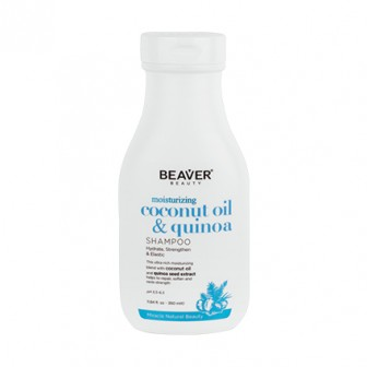 Beaver Coconut Oil And Quinoa Moisturising Shampoo 350ml