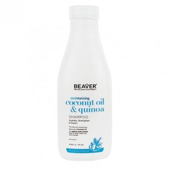 Beaver Coconut Oil And Quinoa Moisturising Shampoo 750ml