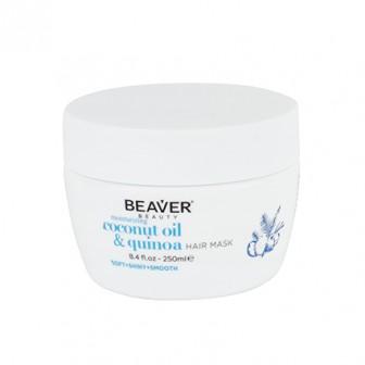 Beaver Coconut Oil And Quinoa Moisturising Hair Mask 250ml