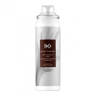 R+Co Bright Shadows Dark Brown Root Touch Up Spray 59ml