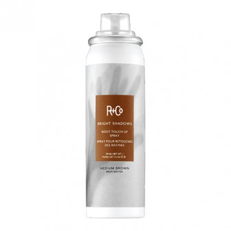 R+Co Bright Shadows Medium Brown Root Touch Up Spray 59ml