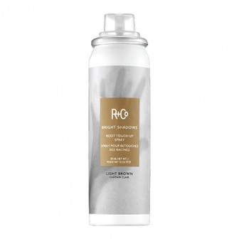 R+Co Bright Shadows Light Brown Root Touch Up Spray 59ml