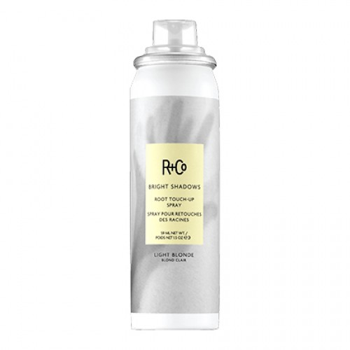 R+Co Bright Shadows Light Blonde Root Touch Up Spray 59ml