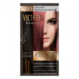Victoria beauty V43 Burgandy Shampoo 40ml