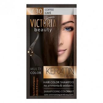 Victoria Beauty V30 Coffee Shampoo 6pc x 40ml