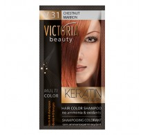 Victoria Beauty V31 Chestnut Shampoo 6pc