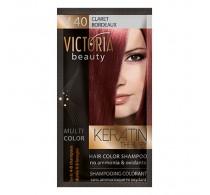 Victoria Beauty V40 Claret Shampoo 6pc