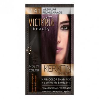 Victoria Beauty V41 Wild Plum Shampoo 6pc x 40ml