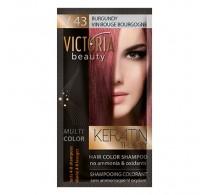 Victoria beauty V43 Burgandy Shampoo 6pc