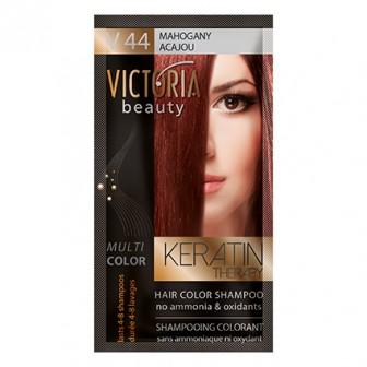 Victoria Beauty V44 Mahogany Shampoo 6pc x 40ml