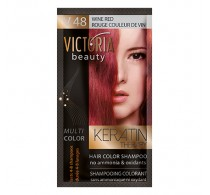 Victoria Beauty V48 Wine Red Shampoo 6pc