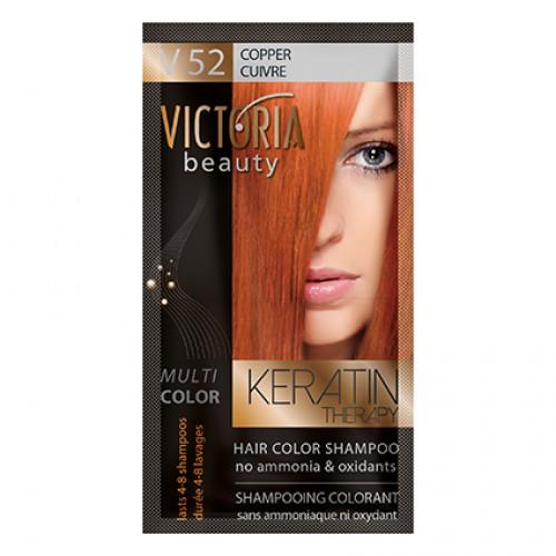 Victoria Beauty V52 Copper Shampoo 6pc x 40ml
