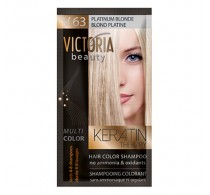 Victoria Beauty V63 Platinum Blonde Shampoo 6pc