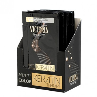 Victoria Beauty Keratin Therapy Hair Mask 12pc