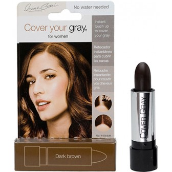 Irene Gari Cover Your Gray Stick Applicator - Dark Brown