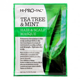 Hi-Pro-Pac Tea Tree & Mint Hair Scalp Masque 52ml