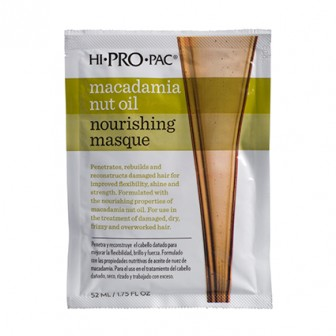 HI PRO PAC Macadamia Nut Oil Nourishing Masque 1pc 52ml