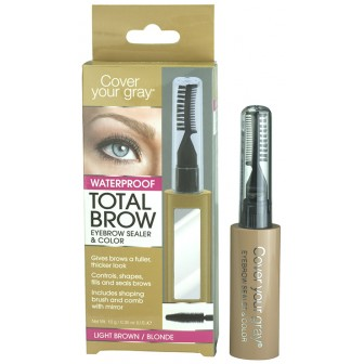 Cover Your Gray Total Brow Eyebrow Sealer and Colour Light Brown/Blonde