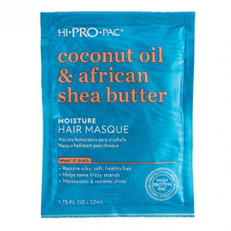 Hi-Pro-Pac Coconut Oil & African Shea Butter Moisture Hair Masque 52ml