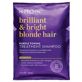HI PRO PAC Brilliant & Bright Blonde Hair 1pc 52ml