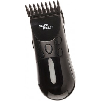 Silver Bullet Black Mini Hair Clipper