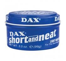 Dax Short & Neat Light Hair Wax 99g