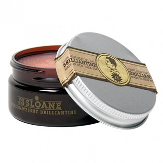 JS Sloane Mediumweight Brilliantine Travel Size 60ml