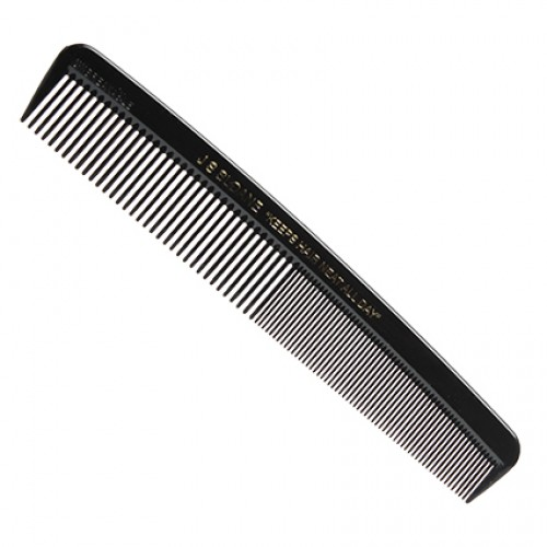 JS Sloane 7 inch Black Dresser Comb