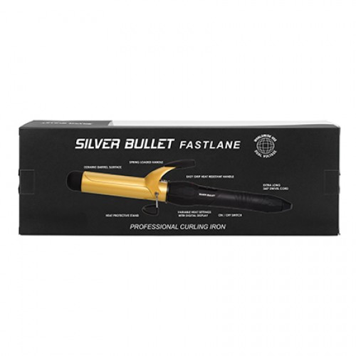 Silver Bullet Curling Iron - Gold Ceramic 32mm