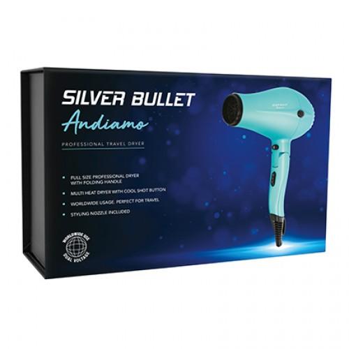 Silver Bullet Andiamo Foldable Travel Hair Dryer
