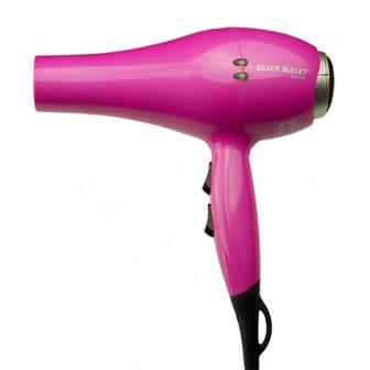 Silver Bullet Satin Hair Dryer Pink