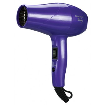 Silver Bullet Baby Travel Hair Dryer Purple