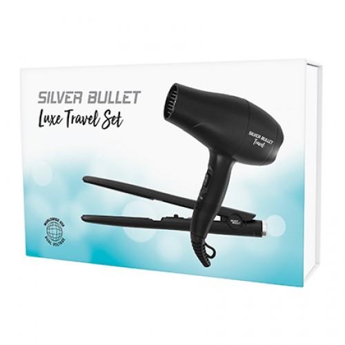 Silver Bullet Luxe Travel Set Matte Black