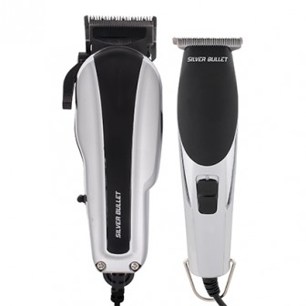 Silver Bullet Dynamic Duo Hair Clipper and Trimmer