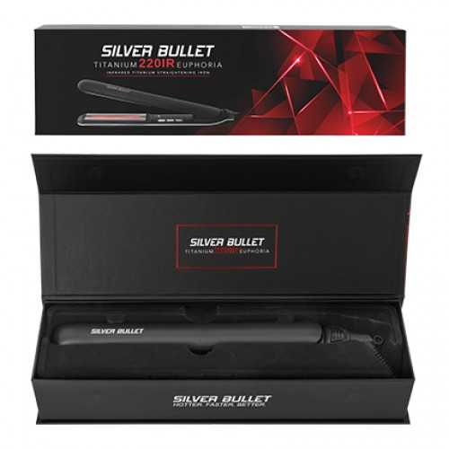 Silver Bullet Titanium 220 IR Euphoria Infrared Hair Straightener - Regular