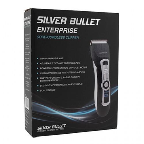 Silver Bullet Enterprise Cord Cordless Hair Clipper