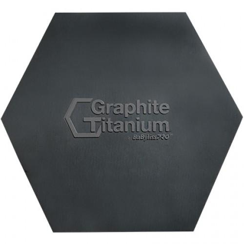 BaBylissPRO Graphite Titanium Ionic Curling Iron 19mm