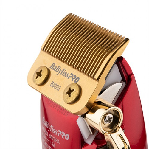 BaBylissPRO Barberology Influencer RedFX Lithium Cordless Hair Clipper