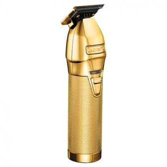 BabylissPRO Barberology Gold FX Skeleton Lithium Outliner Hair Trimmer