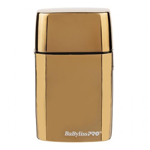 BaBylissPRO Barberology Gold FX02 Cordless Metal Double Foil Shaver