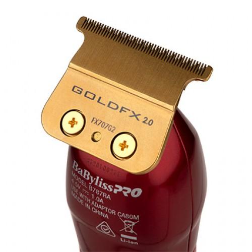 BaBylissPRO Barberology Influencer RedFX Skeleton Lithium Cordless Hair Trimmer