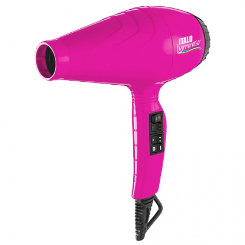 BaByliss Pro Luminoso Fun Professional Hair Dryer Pink